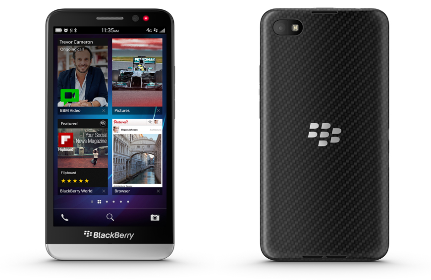 BlackBerry Z30 Rogers Wireless