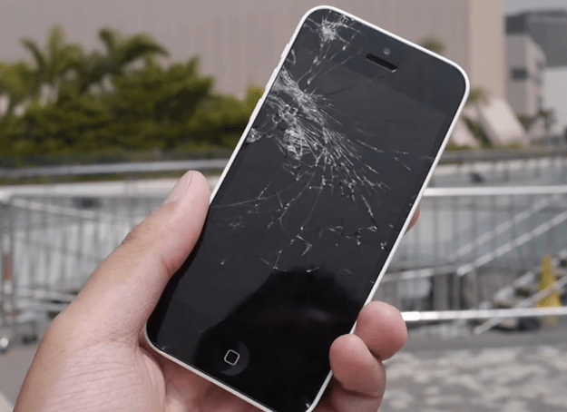 Cracked iPhone Display Repair