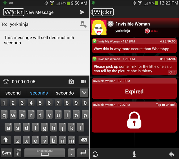 Encrypted Messaging App Android