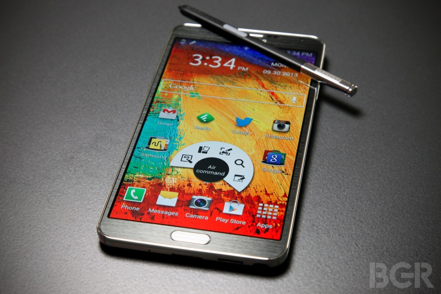 Sprint Galaxy Note 3 Android 4.4 Kitkat Update