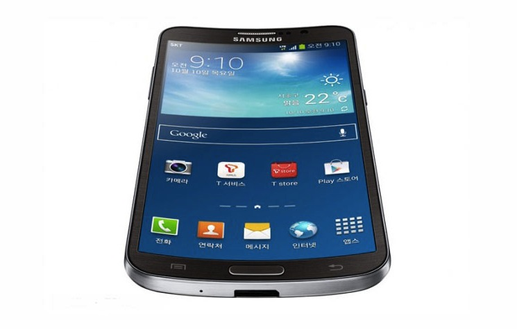 Samsung Galaxy Round Display Quality