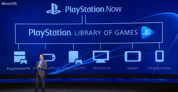 PlayStation Now Game Streaming Service