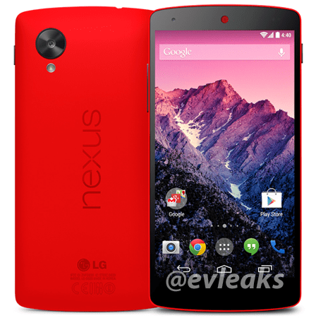 Red Nexus 5 Photos