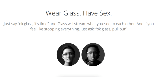Google Glass App Sex With Glass