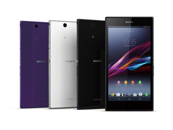 Xperia Z Ultra Wi-Fi Tablet Launch