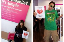 T-Mobile Breakup Letters