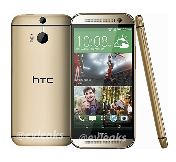 HTC One Gold Sequel Leak
