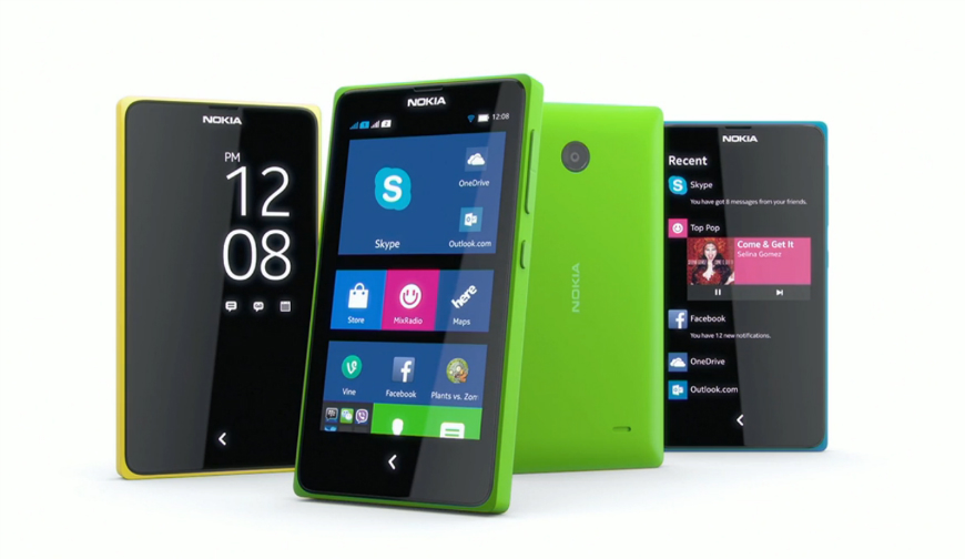 Microsoft Nokia X Android Phones