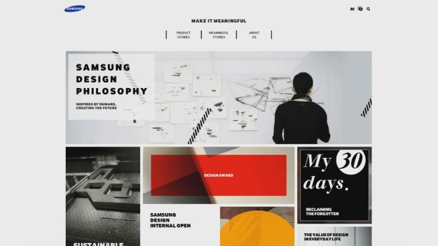 Samsung Design Website Released