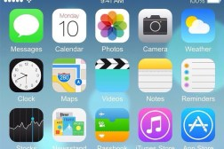 iPhone 6 iOS 8 Home Screen