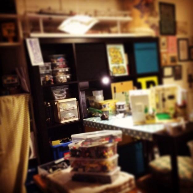 Mon petit atelier...
