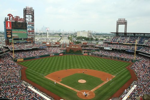 Citizens Bank Park, home of the Phillies | Image via Flickr by Jim Epler