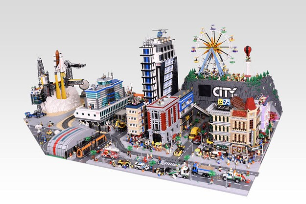 Giant LEGO City