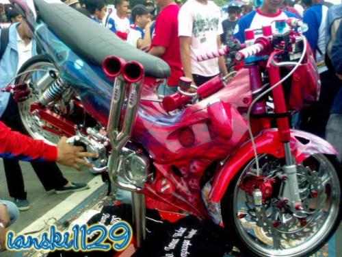 Honda Xrm Modified Motor Show At Pinoysiklo The Motorcycle Flickr