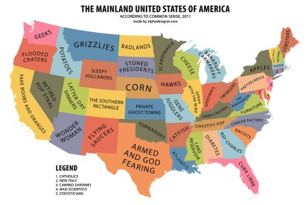 the mainland united states of america according to common
