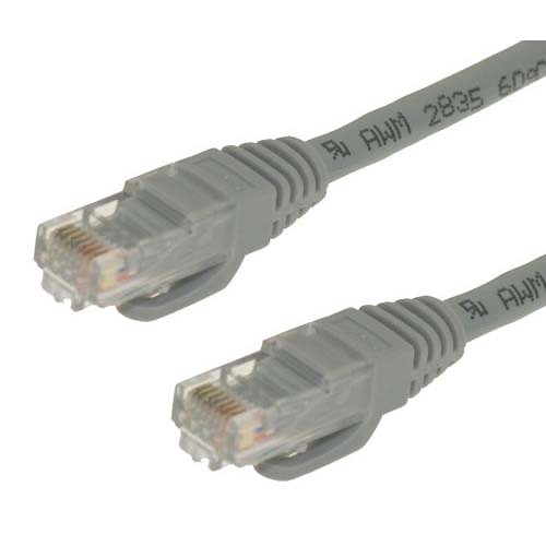 El nuevo protocolo aprobado, permitirá a cables ethernet como este, brindar velocidades de hasta 5 Gbps