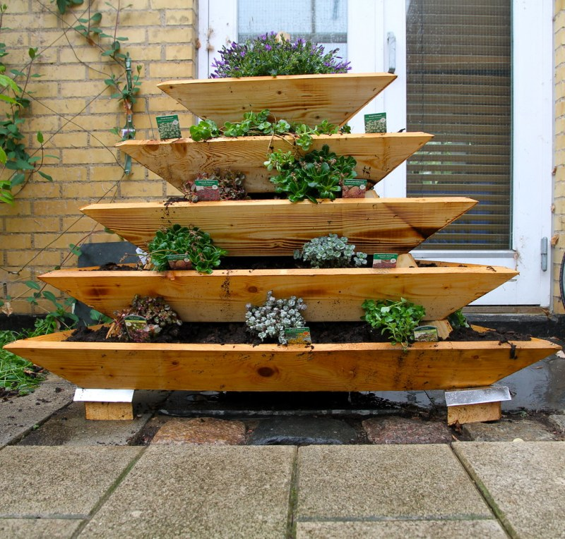 Large Of Pyramid Herb Garden