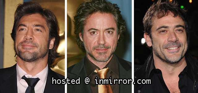 Javier Bardem vs Robert Downey Jr vs Jeffrey Dean Morgan   Flickr     ScarletSaarelainen Javier Bardem vs Robert Downey Jr vs Jeffrey Dean  Morgan   by ScarletSaarelainen