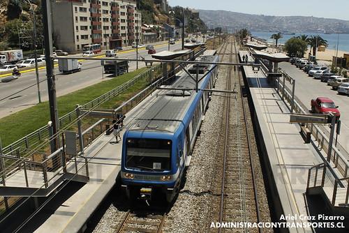 Metro Valparaíso - Portales - Alstom Xtrapolis 100 XT14