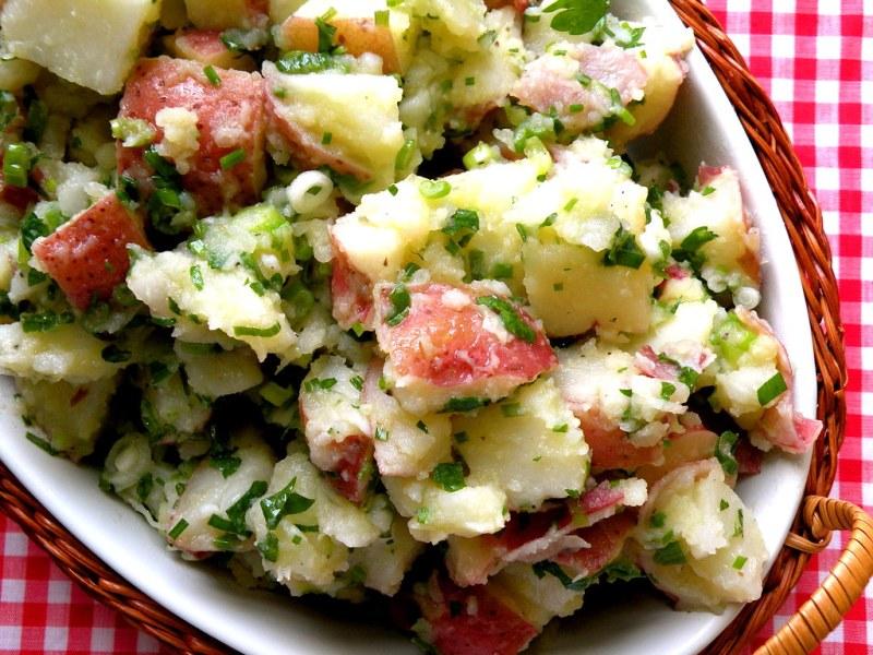 Large Of Greek Potato Salad