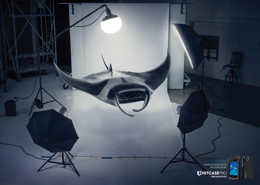 Hitcasepro 10 Waterproof Case - Immersion Raie
