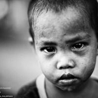 Ein trauriges Kind