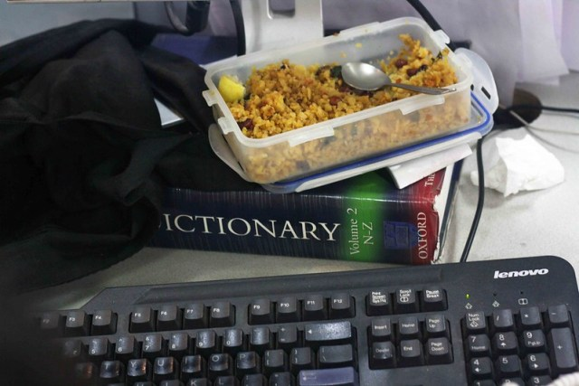 I'd Rather Eat the Dictionary