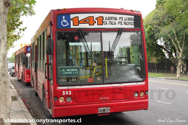 Buenos Aires 141 | Plaza | Tatsa Puma D12 / HPR648