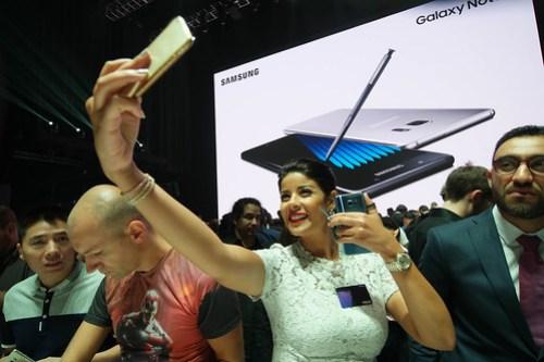 Lanzamiento del Samsung Note 7.