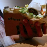 Free Falafel Pitas Today at Pilpel Aldate