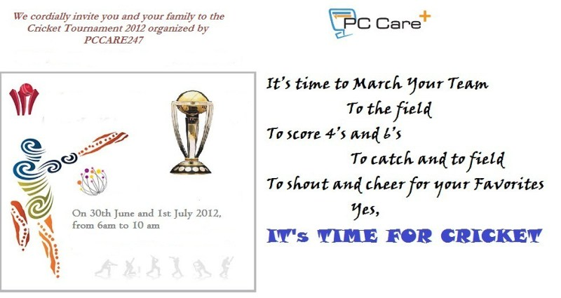 Cricket tournament invitation letter format in marathi cricket tournament invitation format stopboris Image collections