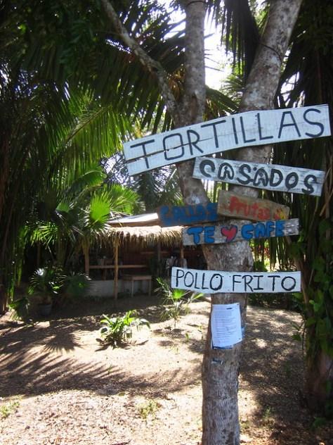 Signs in Costa Rica