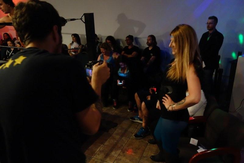 Hogtown Wrestling ring girl , Raymi the Minx