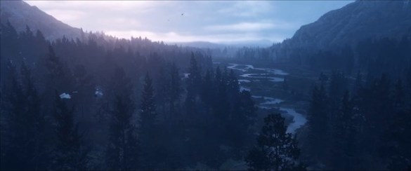 Red Dead Redemption 2 - Forest