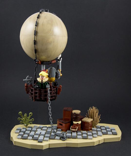 Steampunk - Hot air balloon