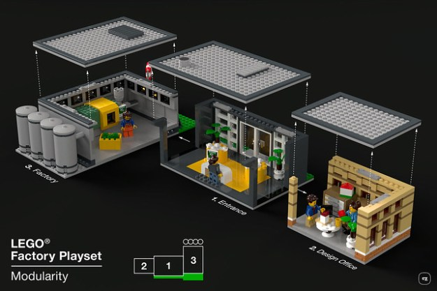 LEGO Factory playset - It's modular!