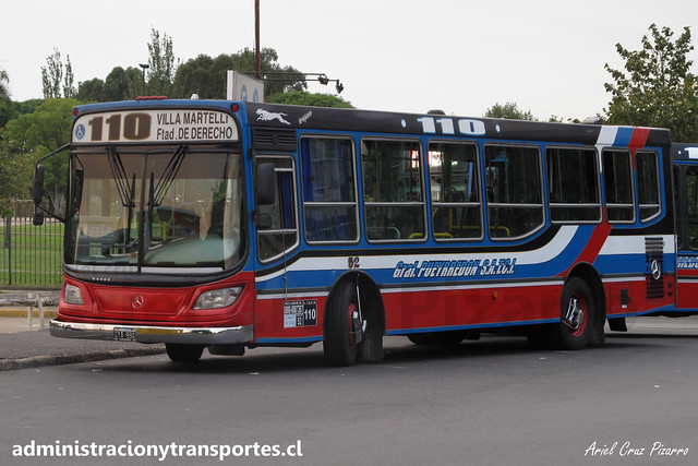 Buenos Aires 110 | General Pueyrredón | Italbus Tropea - Mercedes Benz / N° 52