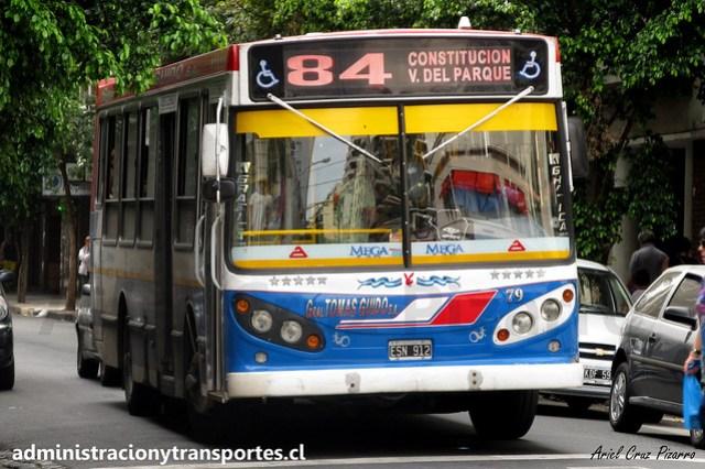 Buenos Aires 84 | General Tomás Guido | La Favorita? - Mercedes Benz / ESN912