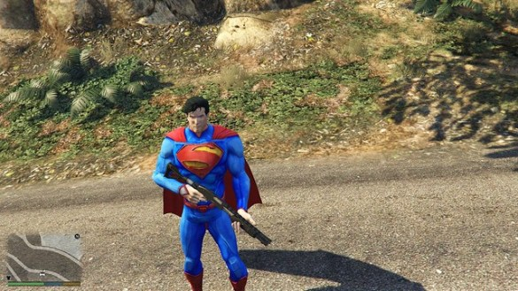 GTA 5 - New 52 Superman