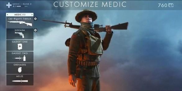 Battlefield 1 - Medic Class