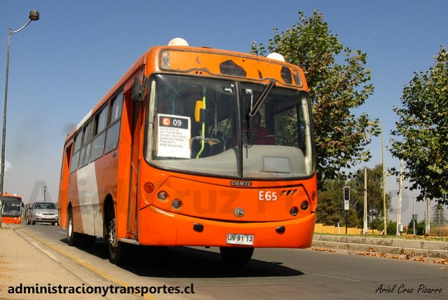 Transantiago C09   Redbus   Comil Svelto - Mercedes Benz / UN9113
