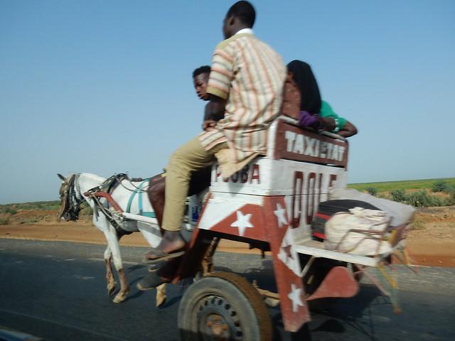 Un taxi atypique