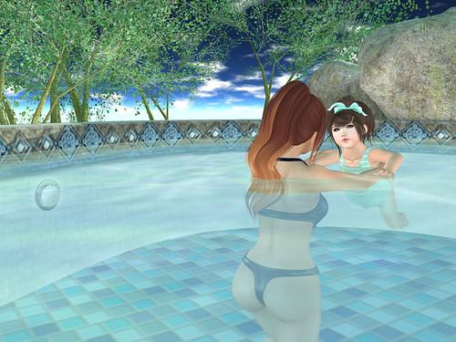 Day Three - Swimming