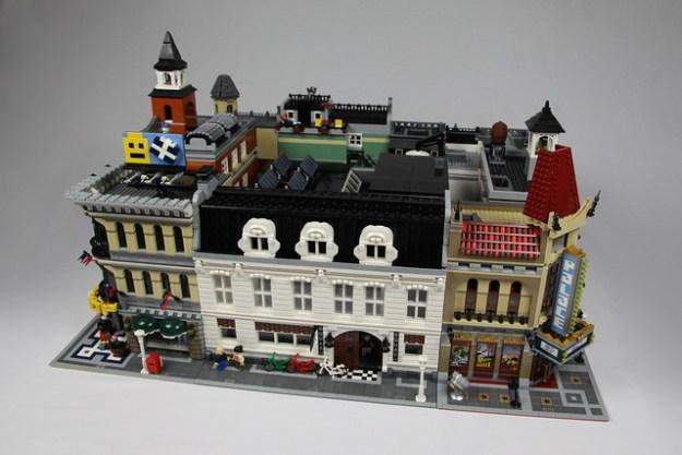 Squash center in Lego