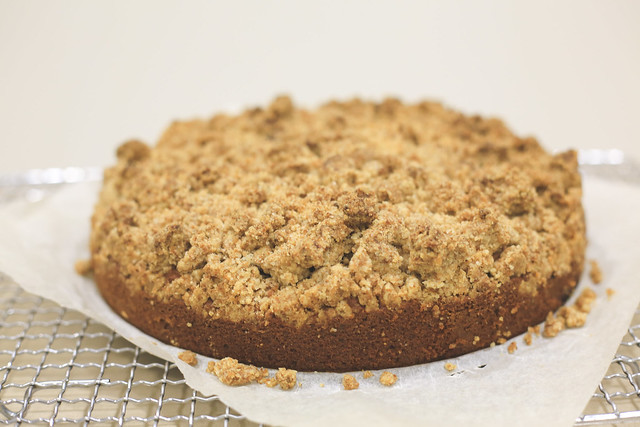 apple crumble cake