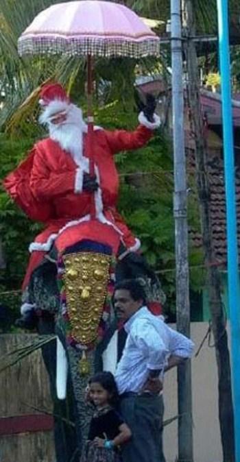 Santa in Kerala