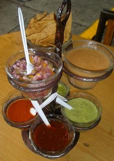 Taco condiments