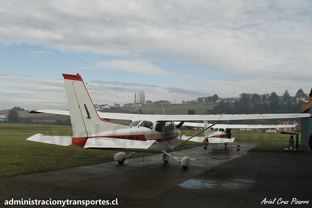 Cessna 172N Skyhawk CC-ALY (Club Aéreo de Castro)