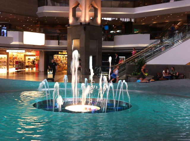 Montreal city break with kids: explore the underground city and let the kids marvel at the elaborate watergames