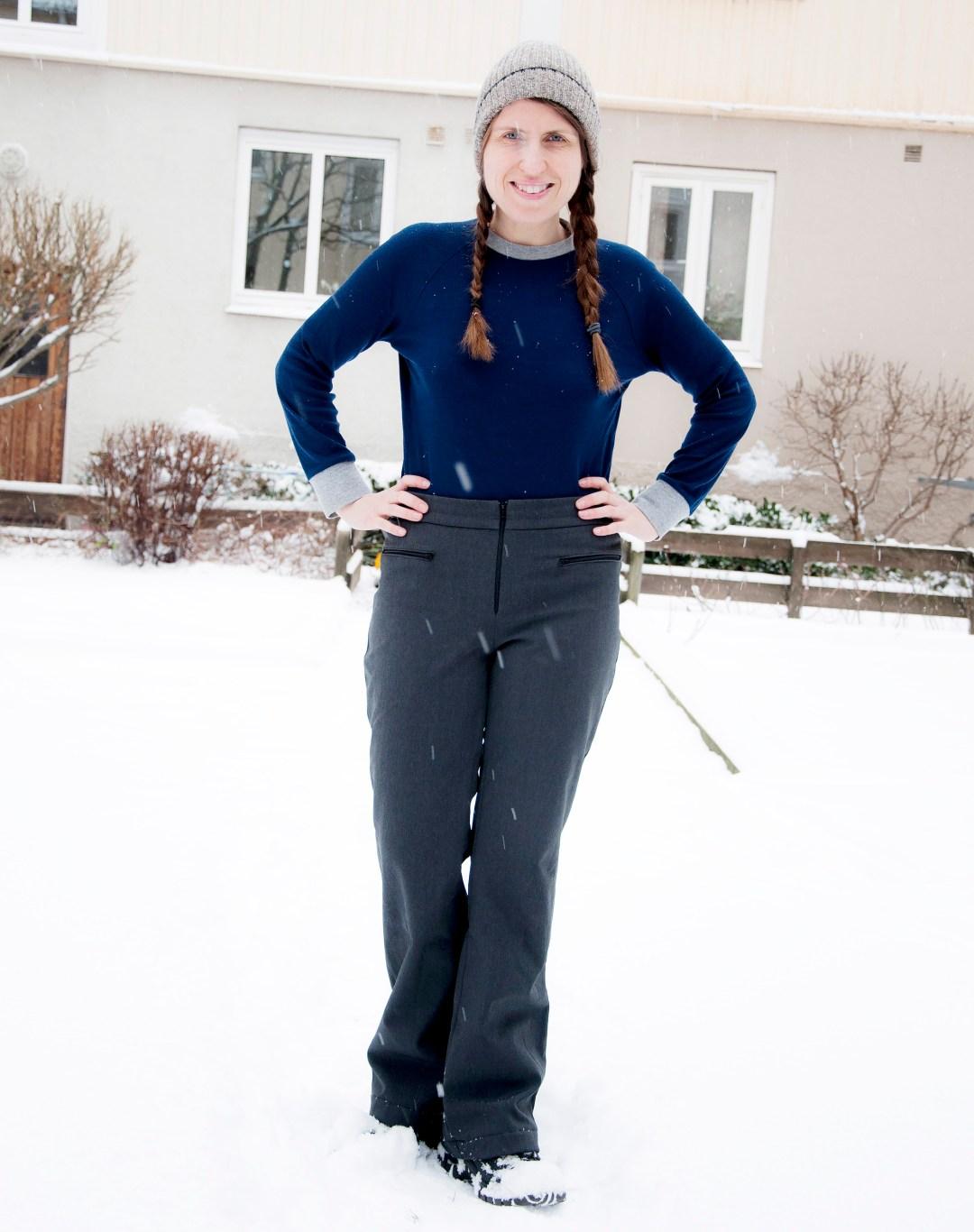 Burdastyle ski pants